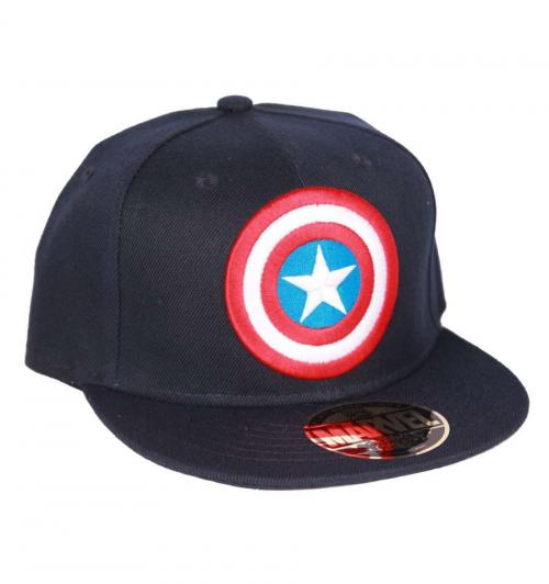 MARVEL - Captain America - Casquette - Bouclier navy