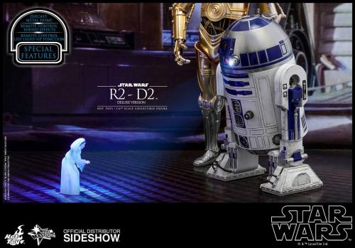 STAR WARS - R2-D2 Deluxe Version - Figurine Movie Masterpiece 18cm