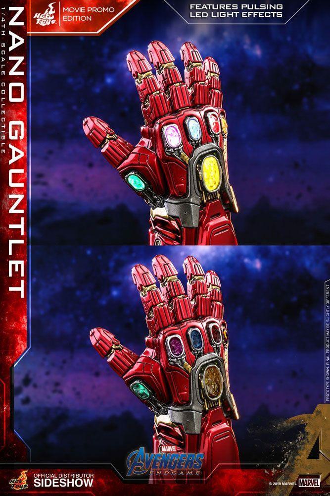 MARVEL - Avengers Endgame - Réplique 1/4 - Nano Gauntlet - 19cm_3