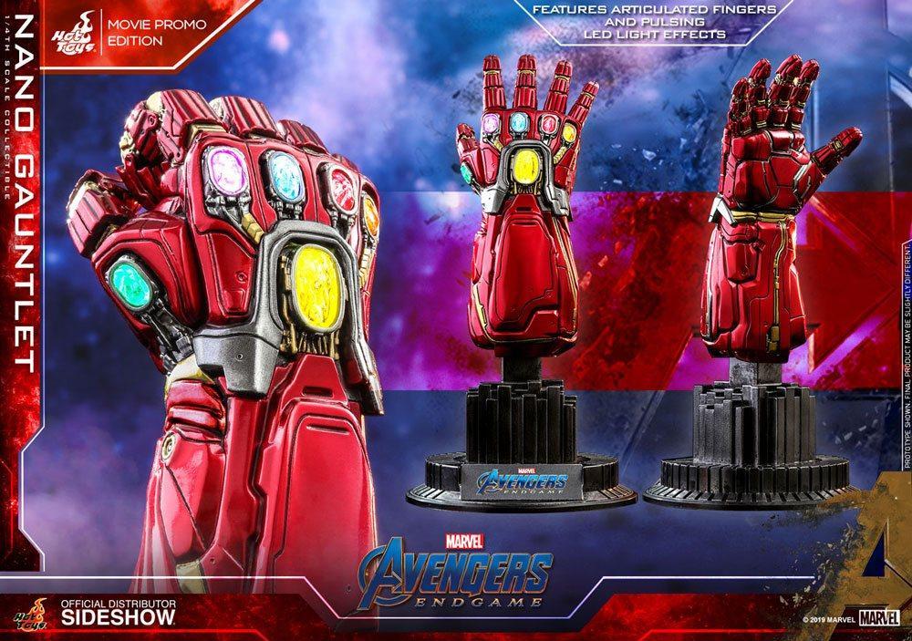MARVEL - Avengers Endgame - Réplique 1/4 - Nano Gauntlet - 19cm_4