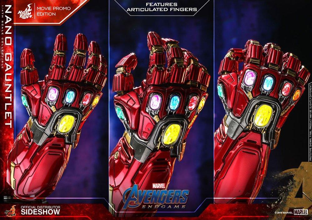 MARVEL - Avengers Endgame - Réplique 1/4 - Nano Gauntlet - 19cm_6
