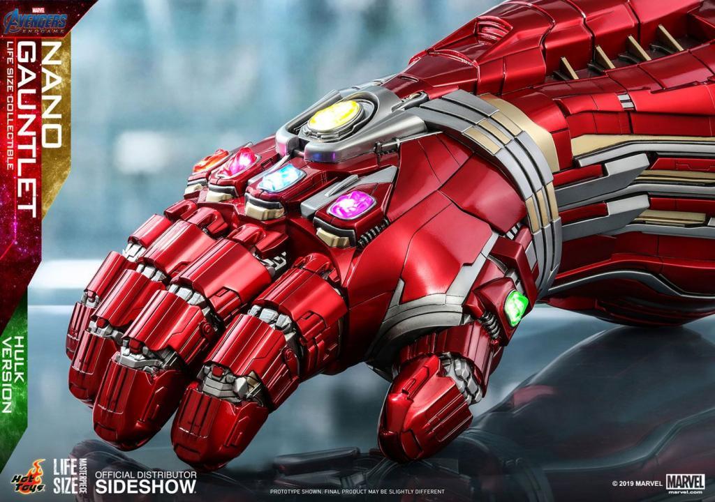MARVEL - Réplique Life-Size Masterpiece - Nano Gauntlet Hulk Ver. 71cm_3