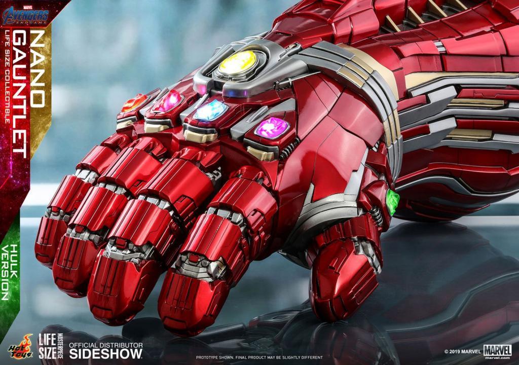 MARVEL - Réplique Life-Size Masterpiece - Nano Gauntlet Hulk Ver. 71cm_4