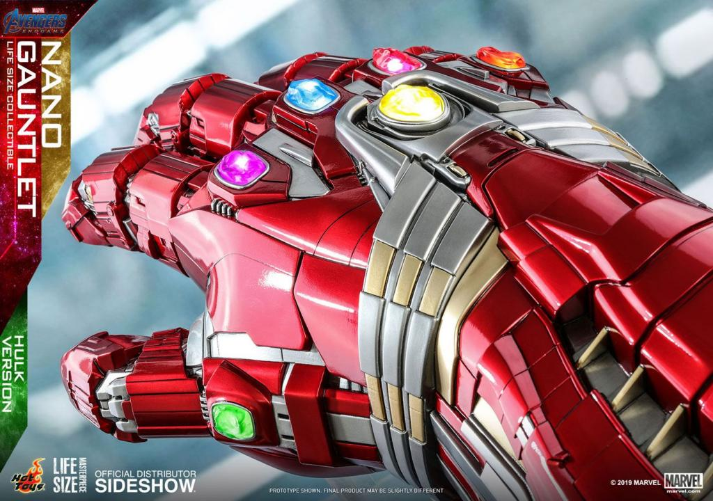 MARVEL - Réplique Life-Size Masterpiece - Nano Gauntlet Hulk Ver. 71cm_5