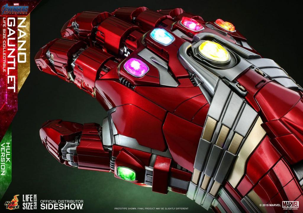 MARVEL - Réplique Life-Size Masterpiece - Nano Gauntlet Hulk Ver. 71cm_6