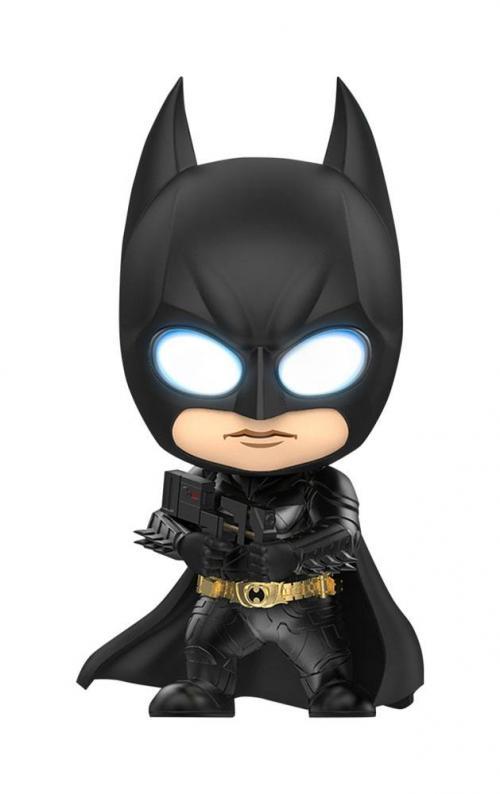 DC COMICS - Cosbaby Batman Sticky Bomb Gun - Figurine 12cm