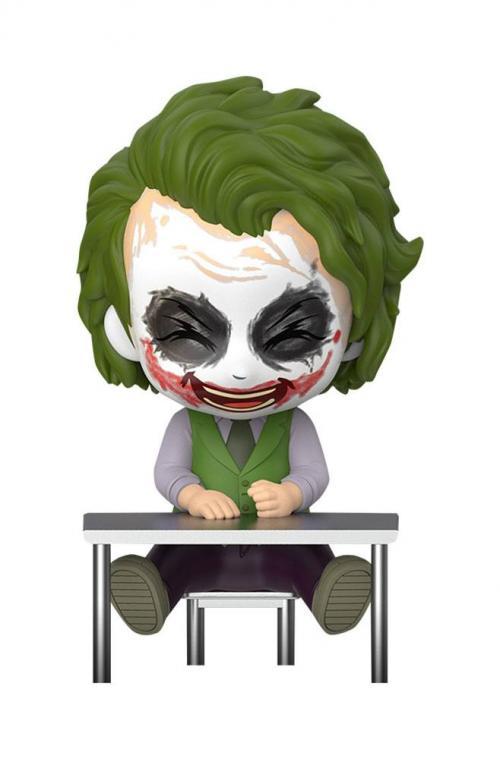 DC COMICS - Cosbaby Joker Laughing - Figurine 12cm