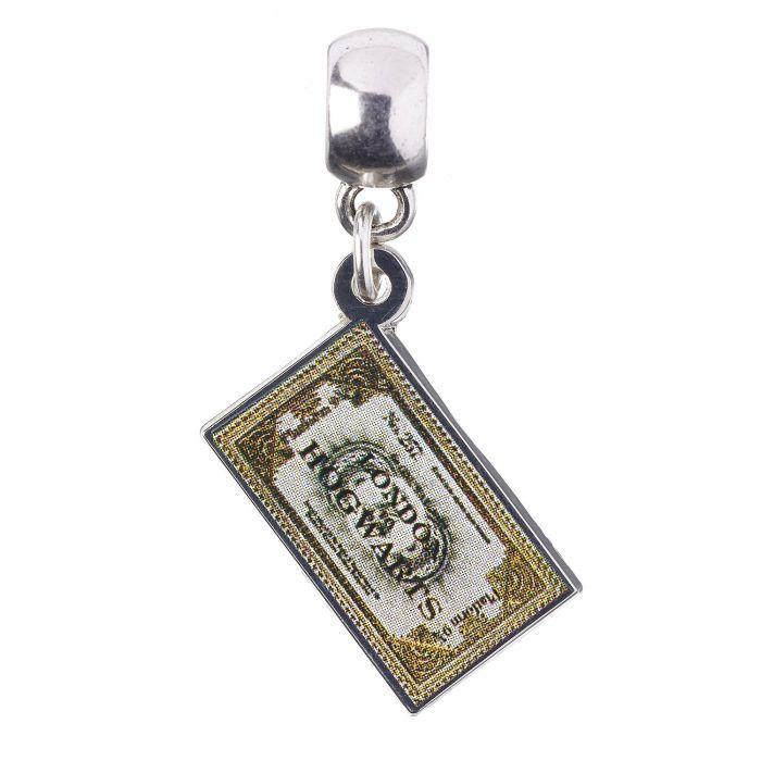 HARRY POTTER - Hogwarts Express Ticket - Charme pour collier_1