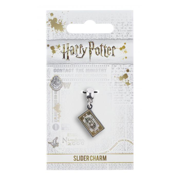 HARRY POTTER - Hogwarts Express Ticket - Charme pour collier_2