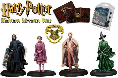 HARRY POTTER - Miniature Adventure Game - Hogwarts Professors - UK