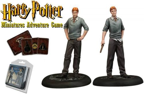HARRY POTTER - Miniature Adventure Game - Fred & Georges Weasley - UK