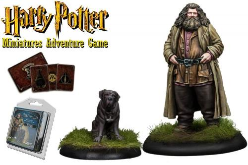 HARRY POTTER - Miniature Adventure Game - Rubeus Hagrid - UK