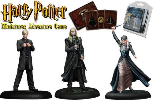 HARRY POTTER - Miniature Adventure Game - Malfoy Family - UK