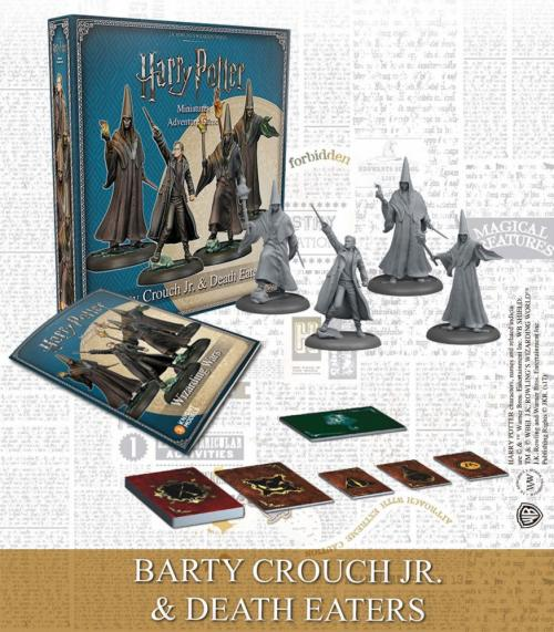 HARRY POTTER - Miniature Adventure Game - Barty Death Eaters - UK