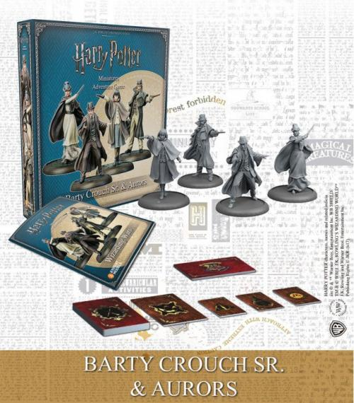 HARRY POTTER - Miniature Adventure Game - Barty Sr. & Aurors - UK