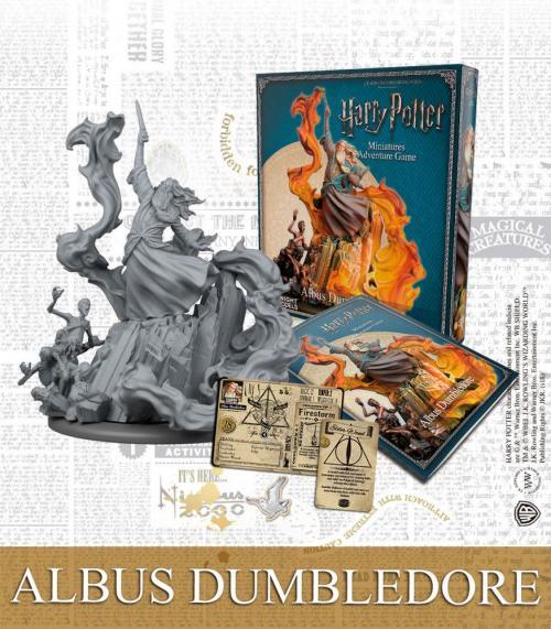HARRY POTTER - Miniature Adventure Game - Albus Dumbledore - UK