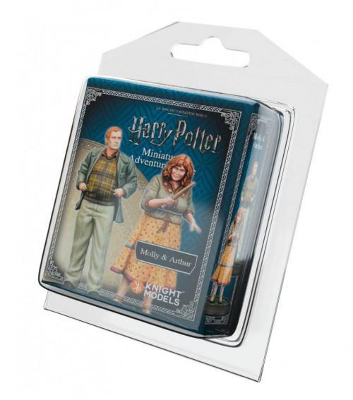 HARRY POTTER - Miniature Adventure Game - Molly & Arthur Weasley - UK