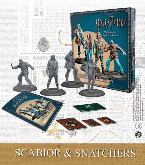 HARRY POTTER - Miniature Adventure Game - Scabior & Snatchers - UK