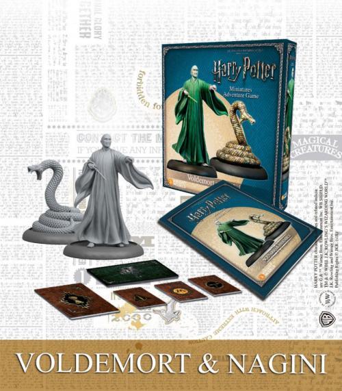 HARRY POTTER - Miniature Adventure Game - Voldemort & Nagini - UK