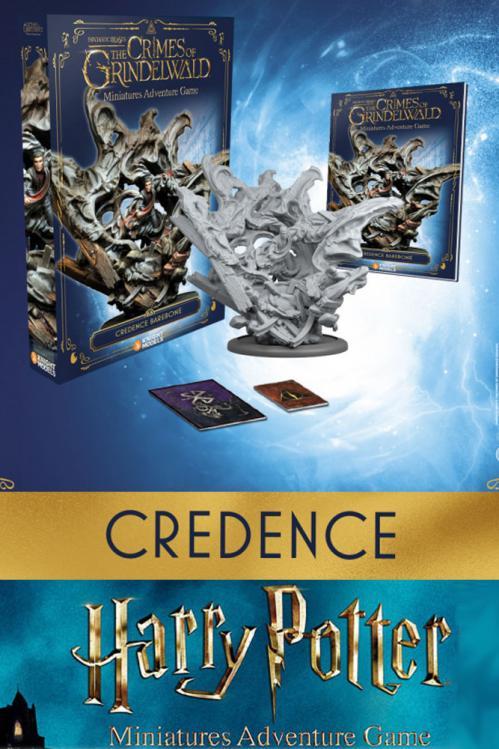 HARRY POTTER - Miniature Adventure Game - Credence - UK
