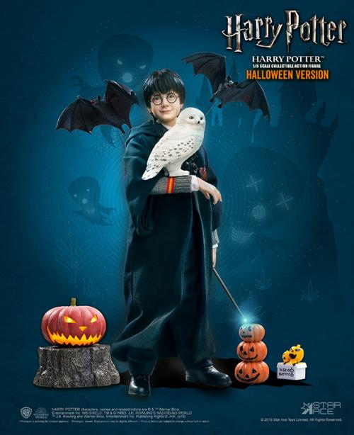 HARRY POTTER - Movie Figure 1/6 Harry Potter Halloween Limited - 30cm