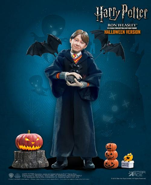 HARRY POTTER - Movie Figure 1/6 Ron Weasley Halloween Limited - 30cm