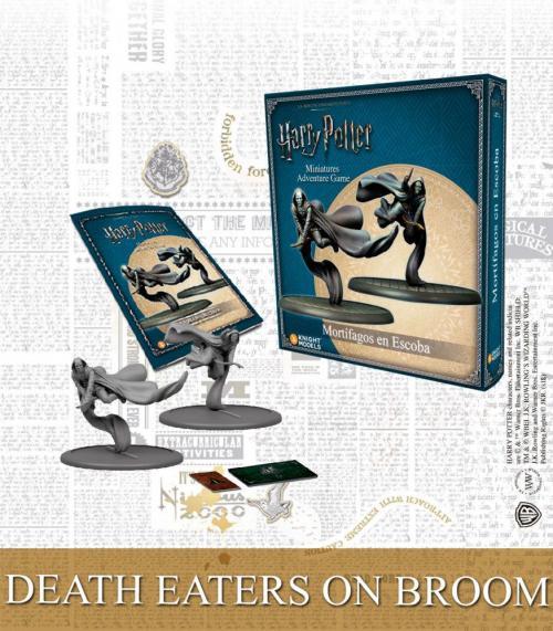 HARRY POTTER - Miniature Adventure Game - Death Eaters on Broom - UK