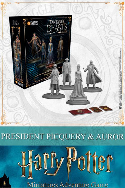 HARRY POTTER - Miniature Adventure Game - Picquery & Aurors - UK