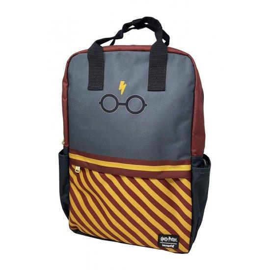 HARRY POTTER - Glasses Square Nylon Backpack 'LoungeFly'