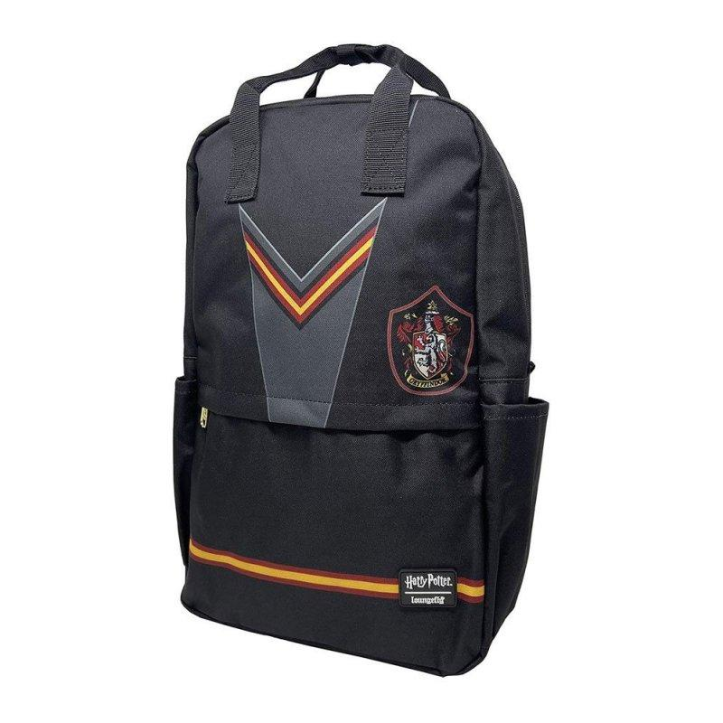 HARRY POTTER - Gryffindor Square Nylon Backpack 'LoungeFly'
