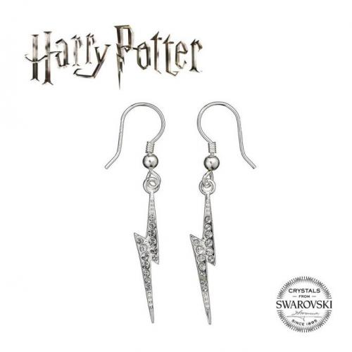 HARRY POTTER - Lightning Bolt - Boucles d'oreilles critstaux Swarovski