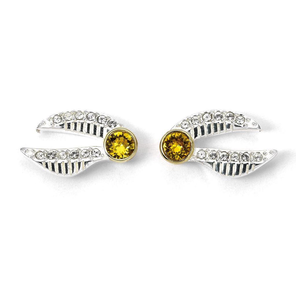 HARRY POTTER - Golden Snitch - Boucles d'oreilles critstaux Swarovski_2