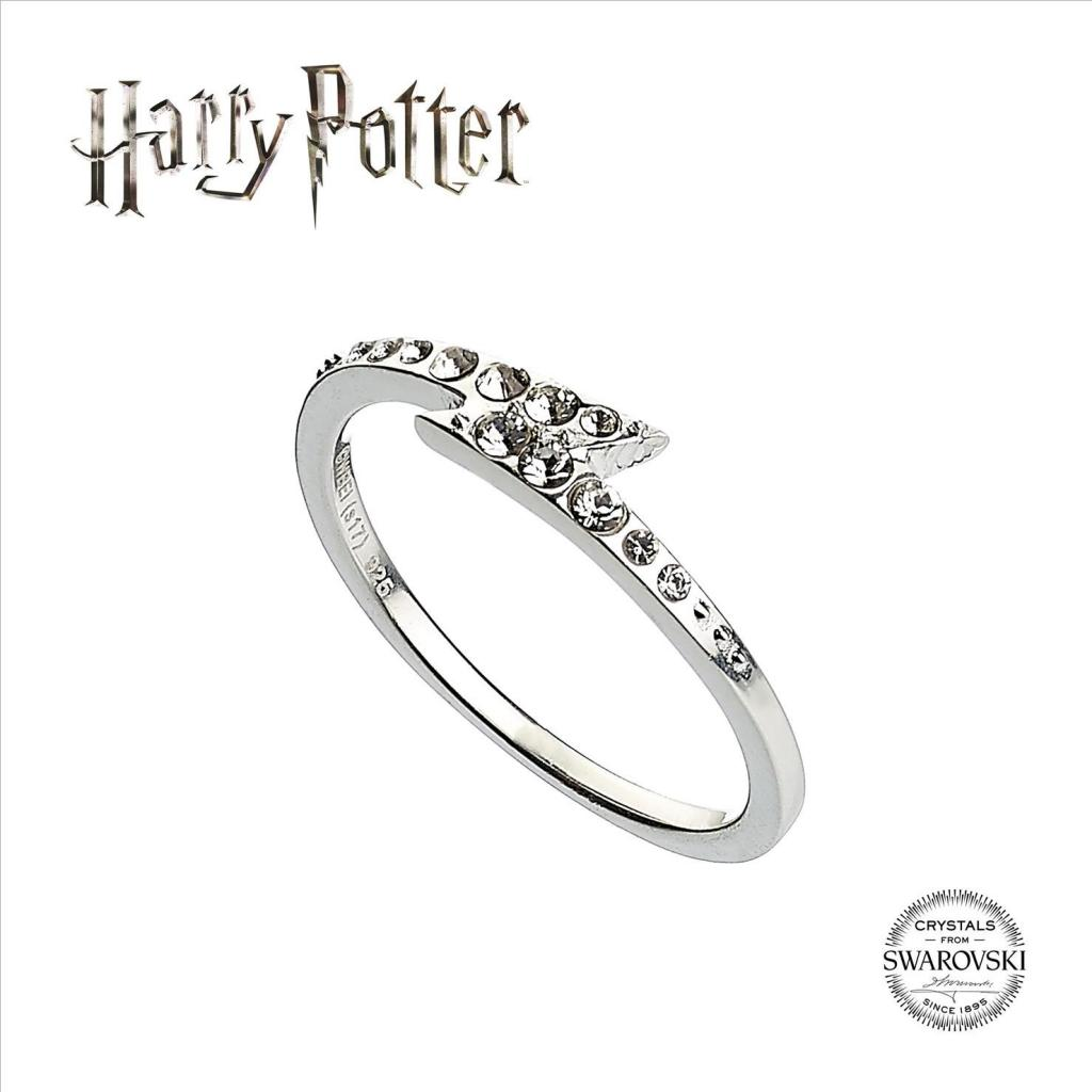 HARRY POTTER - SWAROVSKI - Lightning Bolt Ring (S)