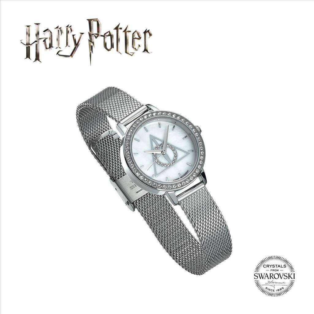 HARRY POTTER - SWAROVSKI - Deathly Hallows Silver Watch