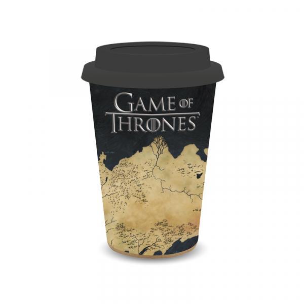 GAME OF THRONES - Travel Mug 400 ml Hiskup - Westeros Map_2