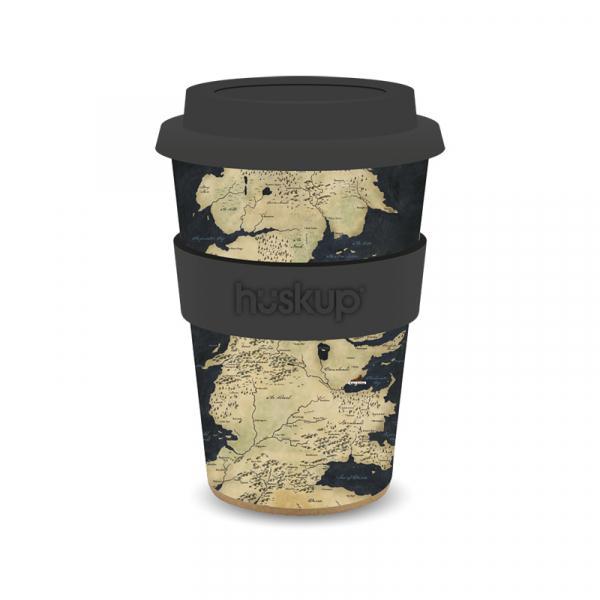 GAME OF THRONES - Travel Mug 400 ml Hiskup - Westeros Map_3