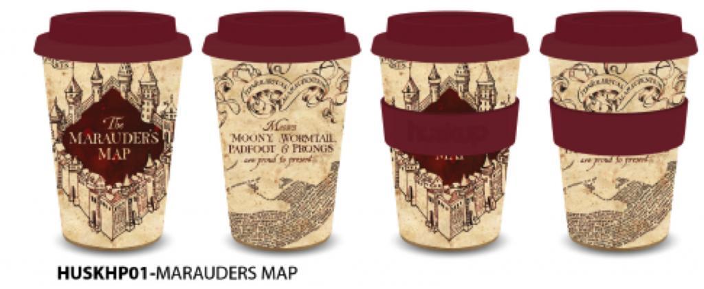 HARRY POTTER - Travel Mug - Marauders Map