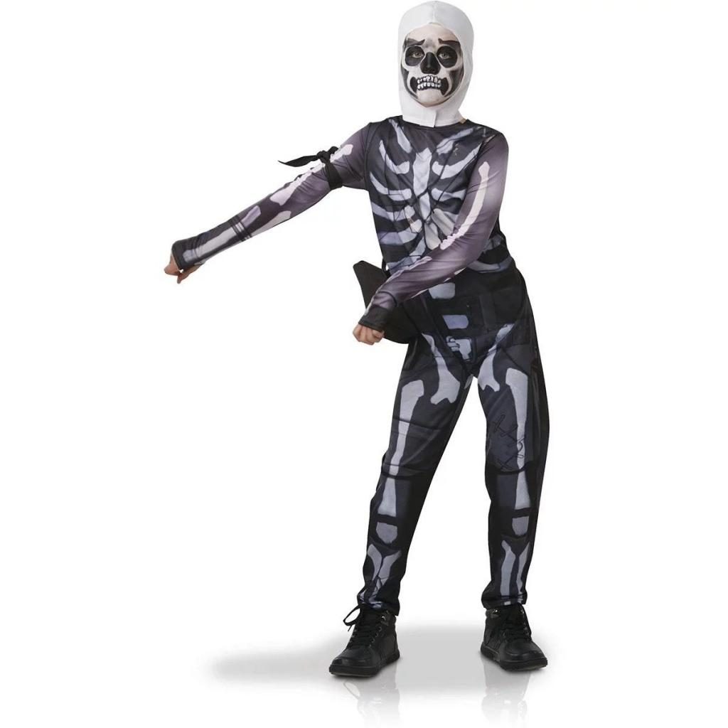 FORTNITE - Déguisement Adolscent - Skull Trooper - (XL - 9-10 ans)_1