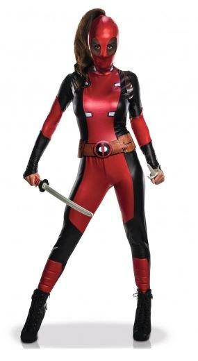 MARVEL - Sexy - Déguisement Adulte - Deadpool - Femme - (XS)