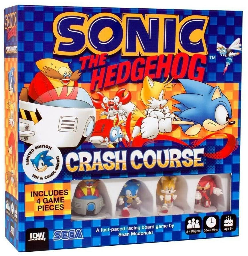 SONIC THE HEDGEHOG - Crash Course - Board Game - 'Version Anglaise'