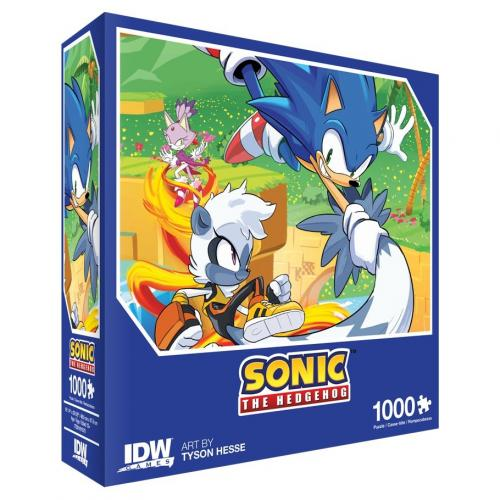 SONIC - Puzzle 1000 pièces - Too Slow!