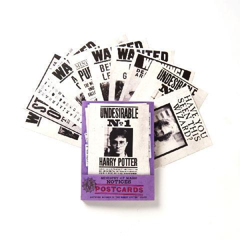 HARRY POTTER - Ministry of Magic - Lot de 20 cartes postales