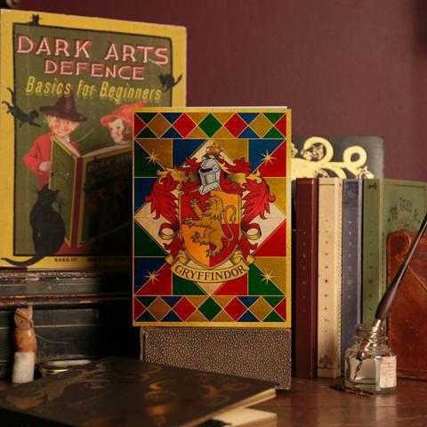 HARRY POTTER - Gryffindor Crest - Carte 2 volets