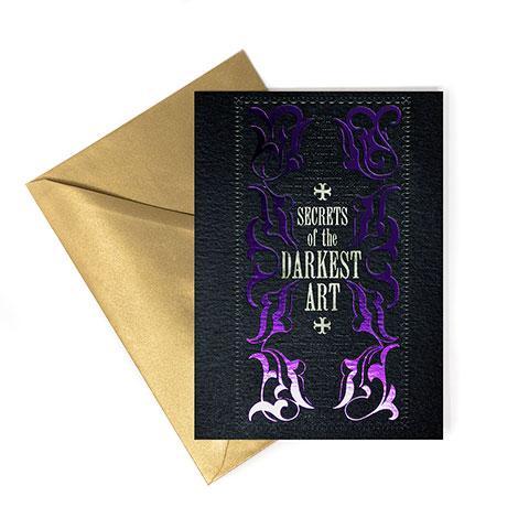 HARRY POTTER - Darkest Art - Carte de voeux_1