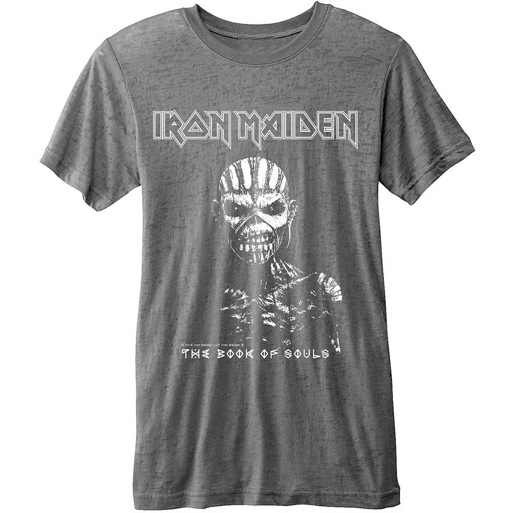 IRON MAIDEN - T-Shirt BurnOut - The Book of Souls (L)