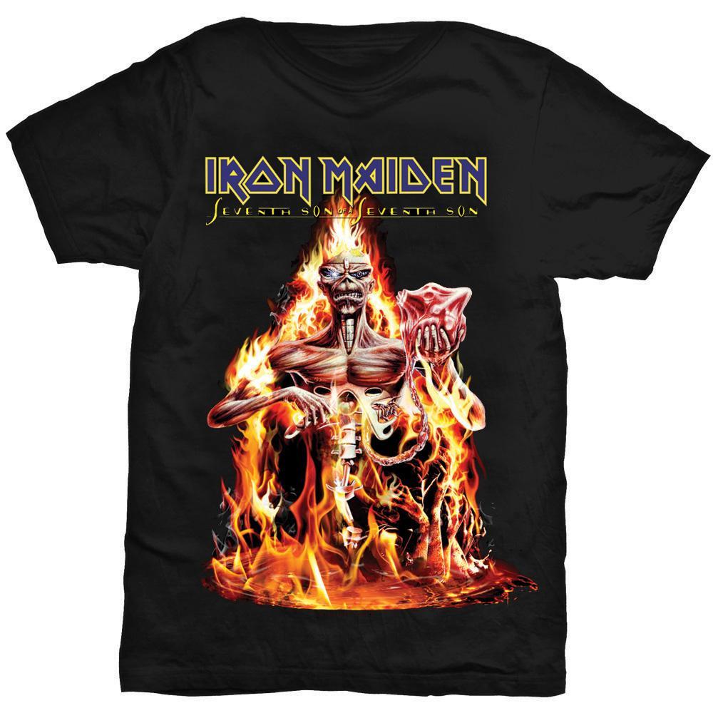 IRON MAIDEN - T-Shirt - Seventh Son (L)