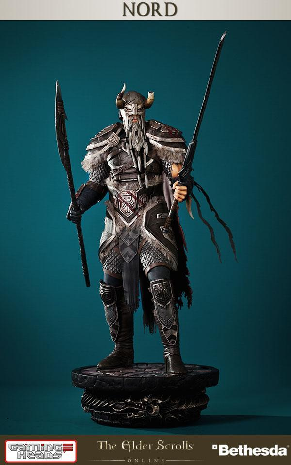 THE ELDER SCROLLS ONLINE - Nord 1/6 scale - 48cm - LIMITED 1000 pces