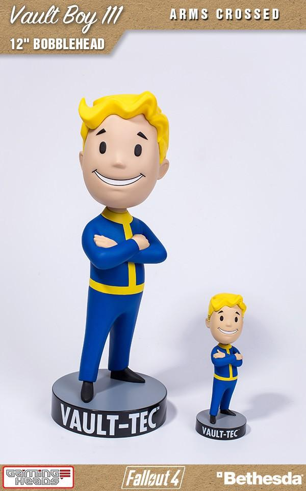 FALLOUT - Vault Boy 111 - Arms Crossed Bobblehead - 30cm