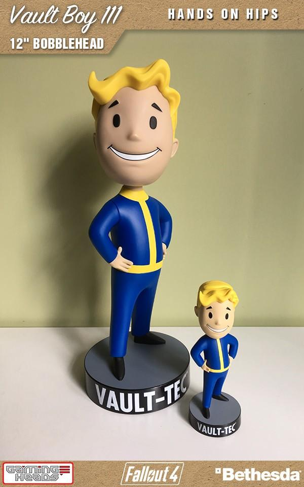 FALLOUT - Vault Boy 111 - Hands on Hips Bobblehead - 30cm