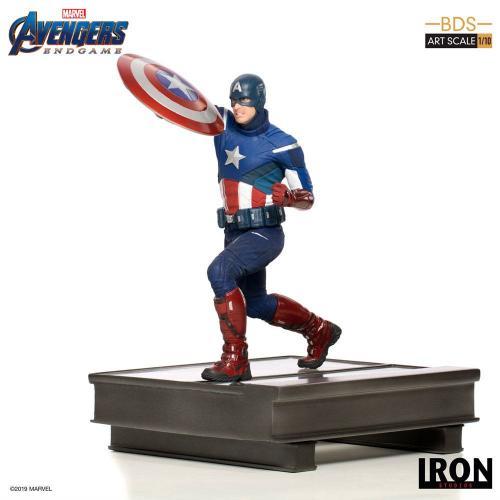 AVENGERS ENDGAME - Statuette BDS Art - Captain America - 21cm